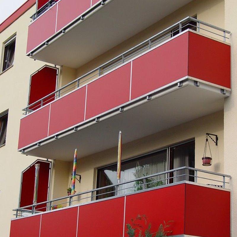 Balkon bretter kunststoff kreative ideen f r for Wohndesign kassel