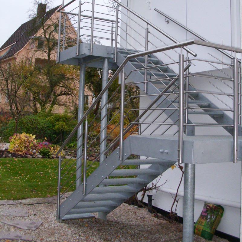 Berühmt Treppen - Metallbau Schwedes, Kassel Lohfelden BS56